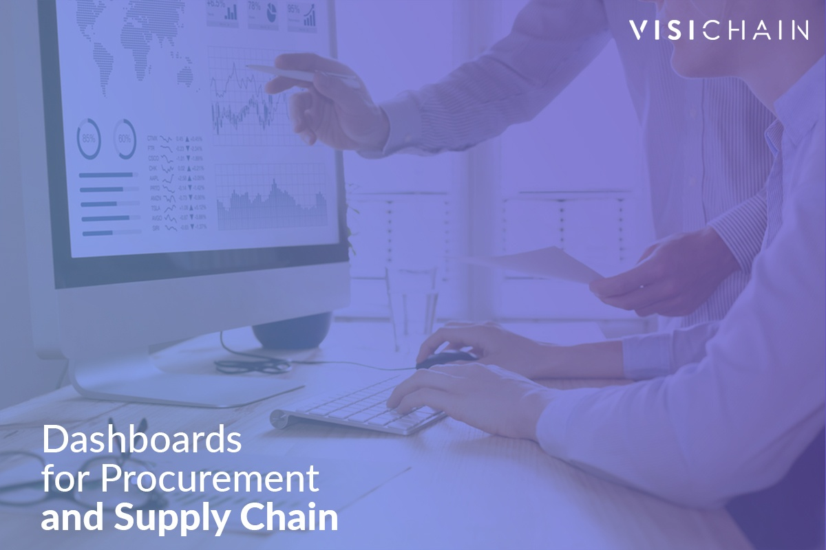 Dashboards for Procurement and Supply Chain