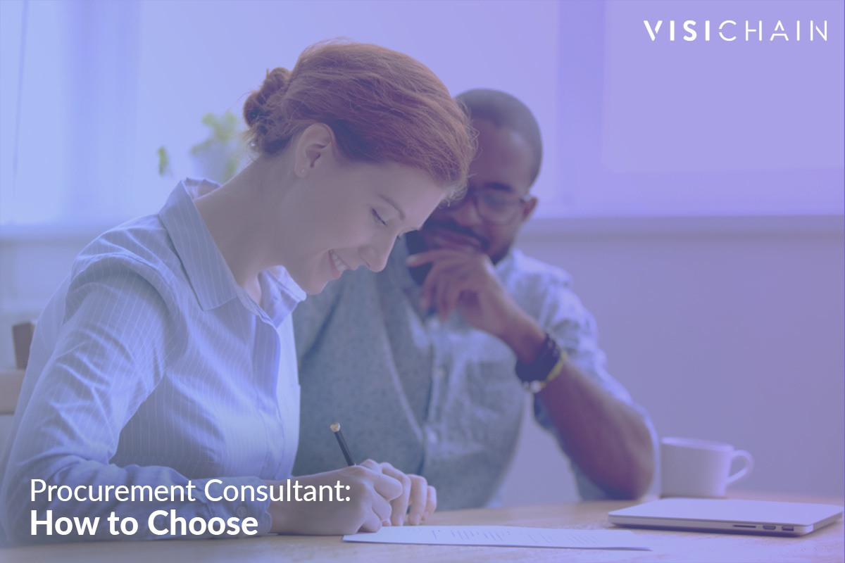 Procurement Consultant How To Choose