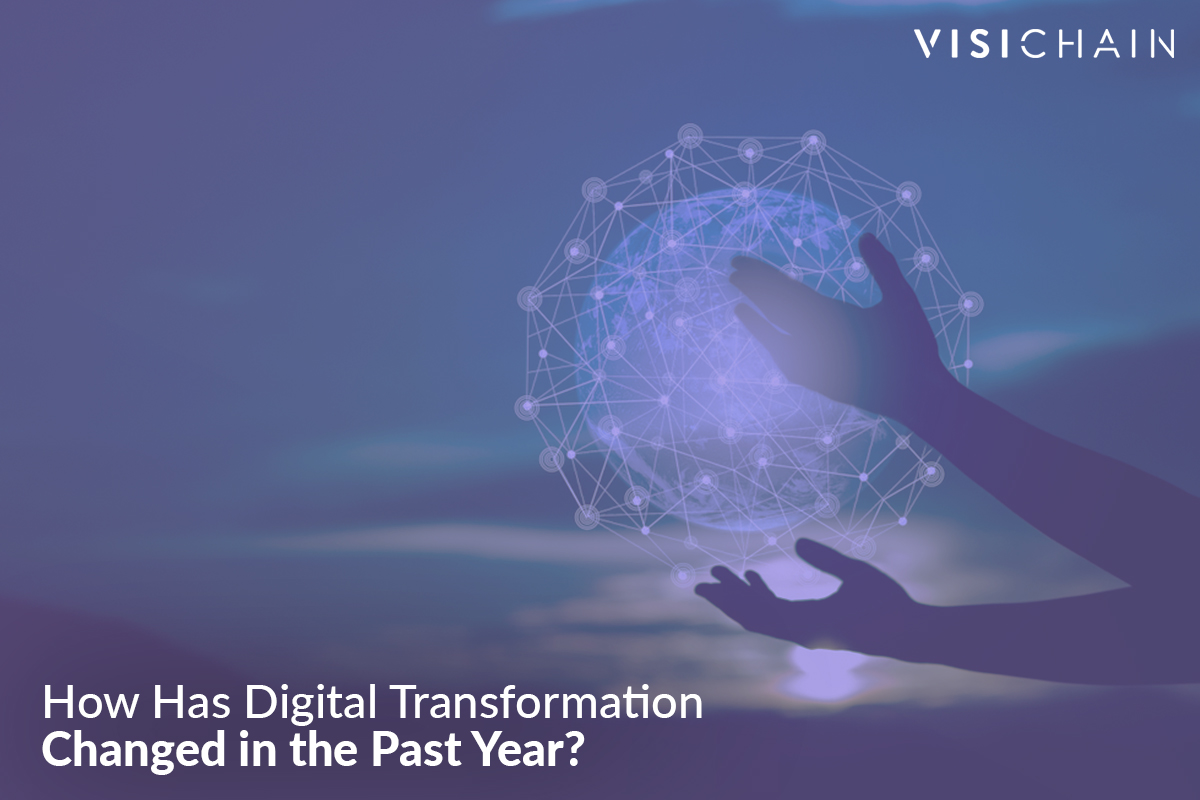 How has digital transformation changed in the past year?