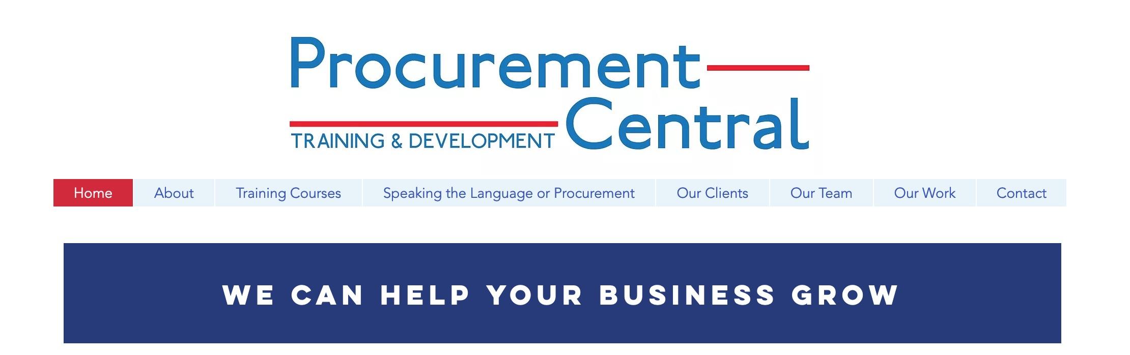 Procurement Central Training Courses